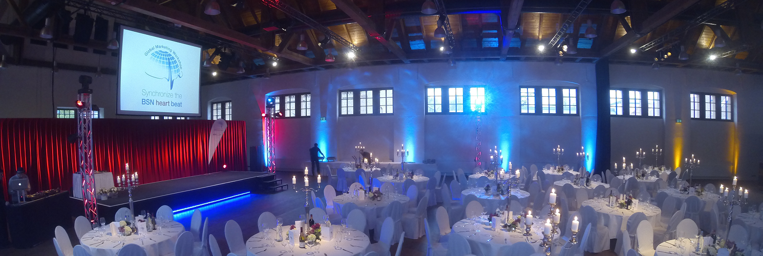 Eventlocation Berlin Galaveranstaltung in der Schinkelhalle