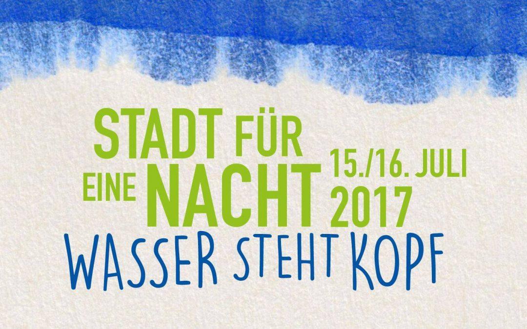 Jetzt als Gastronom für STADT FÜR EINE NACHT 2017 bewerben!