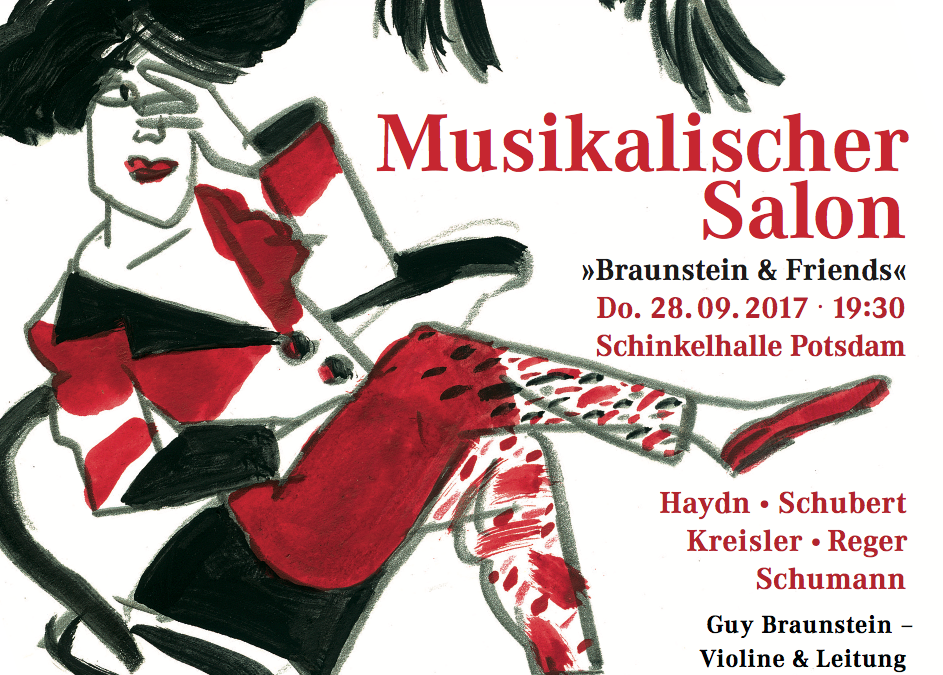 "Musikalischer Salon ""Braunstein & Friends"" 28. September 2017"