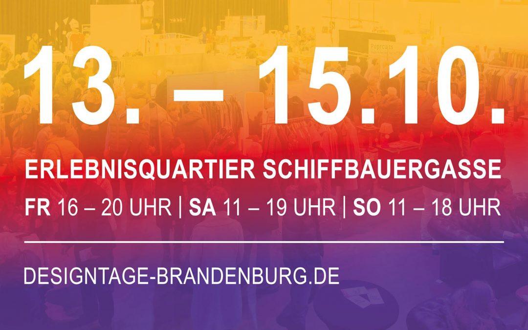 Designtage Brandenburg 13. – 15. Oktober 2017